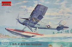 Самолет Cessna L-19/O-1E Bird Dog Floatplane, 1:32, Roden, 629
