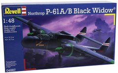 Истребитель P-61A/B Black Widow, 1:48, Revell, 04887